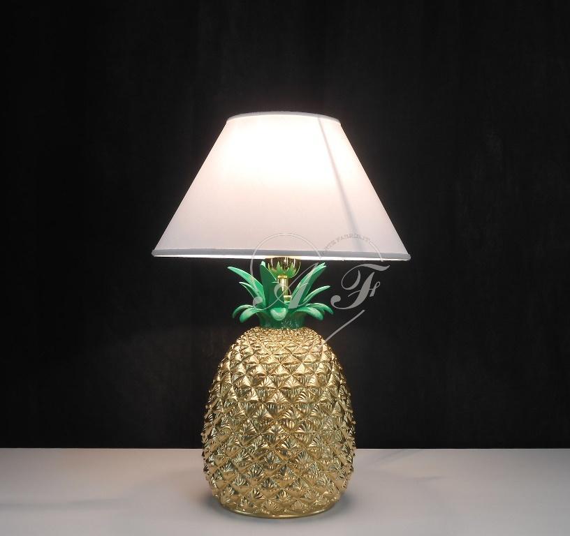 Figura lampada ananas arte fabris produzione for Produzione complementi d arredo