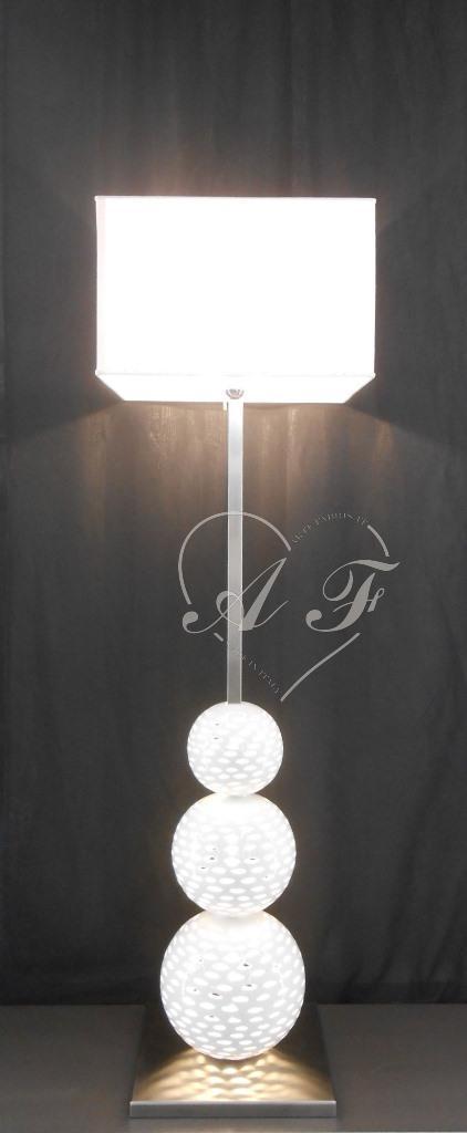 Moderna piantane lampade grandi arte fabris for Produzione complementi d arredo